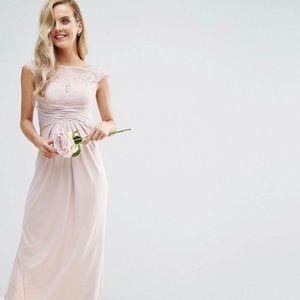 ASOS Blush Bridesmaids Dress